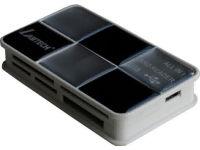 Lamtech LAM050127 - All in 1 - Card reader - USB - Μαύρο-Ασημί