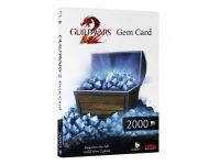 Guild Wars 2 GEM Card 2000 - PC