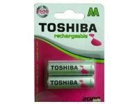 Μπαταρία Επαναφορτιζόμενη Toshiba AA 2000mAh BP2