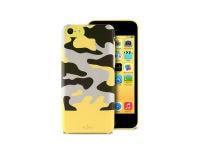 Θήκη iPhone 5c - Puro Camou Soft Cover IPCCCAMOUYEL Κίτρινο