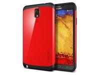 Θήκη Samsung Galaxy Note 3 - SGP Slim Armor Κόκκινο
