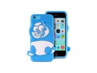 Θήκη iPhone 5/5s/5c - Puro Happy Cartoon Panda IPCCPANDA3DBLUE Μπλε