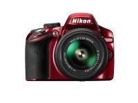 DSLR Nikon D5200 Kit 18-55mm VR II - Κόκκινο