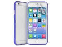 Θήκη iPhone 6/6S & Μεμβράνη οθόνης - Puro Bumper Cover IPC647BUMPERBLUE Μπλε