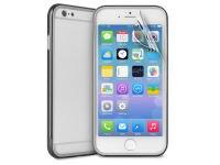 Θήκη iPhone 6/6S Plus & Μεμβράνη οθόνης - Puro Bumper Cover IPC655BUMPERBLK Μαύρο