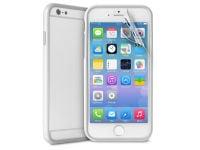 Θήκη iPhone 6/6S Plus & Μεμβράνη οθόνης - Puro Bumper Cover IPC655BUMPERWHI Λευκό
