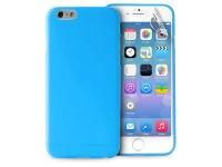 Θήκη iPhone 6/6S & Μεμβράνη οθόνης - Puro UltraSlim 0.3 Cover Μπλε IPC64703BLUE