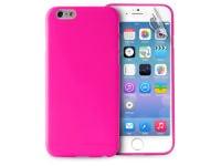 Θήκη iPhone 6/6S & Μεμβράνη οθόνης - Puro UltraSlim 0.3 Cover Ροζ IPC64703PNK