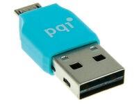 Αντάπτορας PQI USB σε Micro USB Connect 203 0011R014J Μπλε