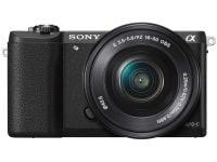 Mirrorless Camera Sony α5100 Kit 16-50MM - Μαύρο