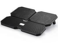"""Βάση Laptop Cooler Deepcool 15.6"""" Multi Core X6 Μαύρο"""
