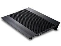 """Βάση Laptop Cooler Deepcool 17"""" N8 Black Μαύρο"""