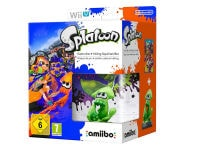Splatoon & Inkling Squid amiibo - Wii U Game