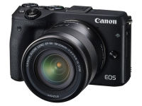Mirrorless Camera Canon EOS M3 18-55mm Kit - Μαύρο