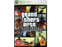 Grand Theft Auto San Andreas - Xbox 360 Game