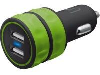Urban Revolt Dual Usb 1A GRN - USB Φορτιστής Αυτοκινήτου - Πράσινο