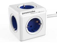 Powercube Extended - Πολύπριζο - Λευκό-Μπλε
