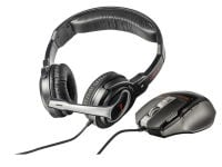 Trust GXT 249 - Gaming Mouse & Headset Σετ Μαύρο