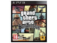 Grand Theft Auto: San Andreas - PS3 Game
