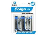 Μπαταρίες Gigacell LR6 ΑA x4