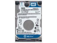 """Western Digital Internal HDD 500 GB 2,5"""" 5400 16MB"""