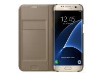 Θήκη Samsung Galaxy S7 Edge - Samsung Flip Wallet - Χρυσό