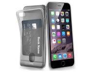 Θήκη iPhone 6/6S - SBS Aero Card Cover - Διαφανές