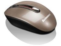 Ασύρματο Ποντίκι Lenovo N3903A Wireless Καφέ