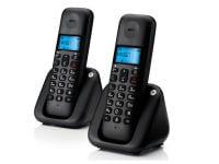 Motorola T302 Ασύρματο Τηλέφωνο Μαύρο (GR)