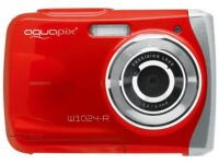 Compact Aquapix W1024-R Αδιάβροχη - Κόκκινο