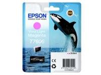 Μελάνι Ανοικτό Ματζέντα Epson T760640 (C13T76064010)
