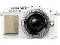 Mirrorless Camera Olympus E-PL7 Kit 14-42mm EZ Pancake - Λευκό