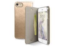 Θήκη iPhone 8/7 - SBS Book Wallet TEBOOKGOLDIP7G Χρυσό