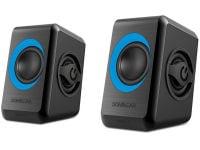 Ηχεία 2.0 SonicGear QUATRO2BT Μαύρο, Μπλε