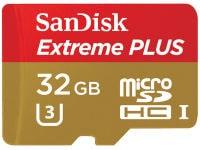 Κάρτα μνήμης microSDXC UHS-I 32GB Class 10 - SanDisk Extreme PLUS SDSQXSG-032G-GN6MA