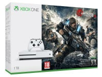 Microsoft Xbox One S White - 1TB & Gears of War 4