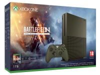Microsoft Xbox One S Military Green - 1TB & Battlefield 1 Early Enlister Deluxe Edition