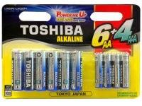 Μπαταρία Toshiba 6+4 GCNN66 AA & AAA