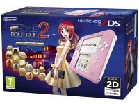 Nintendo 2DS Ροζ/Λευκό & New Style Boutique 2