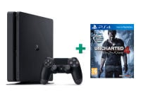 Sony PlayStation 4 - 1TB Slim D Chassis & Uncharted 4: Το Τέλος Ενός Κλέφτη