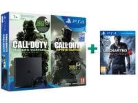 Sony PlayStation 4 - 1TB Slim D Chassis & Call of Duty: Infinite Warfare Legacy Edition & Uncharted 4: Το Τέλος Ενός Κλέφτη