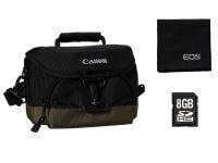 Canon 0033X090 - Τσάντα Φωτογραφικής & Κάρτα Μνήμης 8GB