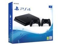 Sony PlayStation 4 - 1TB Slim D Chassis & 2ο Χειριστήριο (μαύρο)