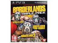 Borderlands Triple Pack - PS3 Game