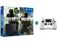 Sony PlayStation 4 - 1TB Slim D Chassis & Call of Duty: Infinite Warfare Legacy Edition (Digital) & 2ο χειριστήριο (λευκό)