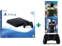 Sony PlayStation 4 - 500GB Slim D Chassis & Call of Duty: Infinite Warfare & Uncharted 4: Το Τέλος Ενός Κλέφτη & 2ο χειριστήριο