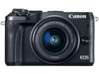 Mirrorless Camera Canon EOS M6 15-45mm Kit - Μαύρο
