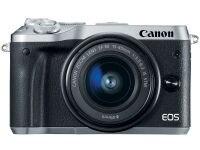 Mirrorless Camera Canon EOS M6 15-45mm Kit - Ασημί