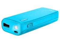 Powerbank Trust Primo 22057 - 4400 mAh 1A Μπλε