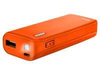 Powerbank Trust Primo 22061 - 4400 mAh 1A Πορτοκαλί